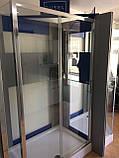 Душевая кабина Dusel А-515, 120х80х190, дверь раздвижная, стекло прозрачное, фото 6