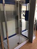 Душевая кабина Dusel А-515, 120х80х190, дверь раздвижная, стекло прозрачное, фото 7