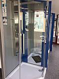 Душевая кабина Dusel А-715, 100х100х190, пятиугольная, стекло прозрачное, фото 6