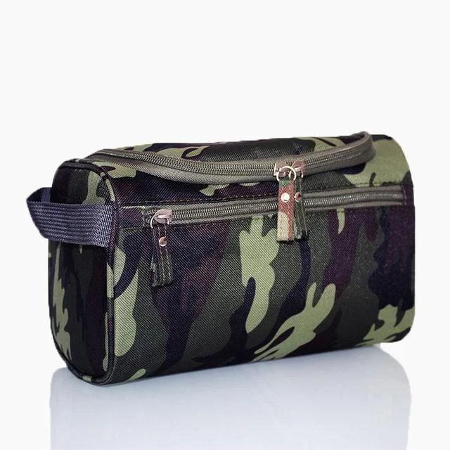 Чоловіча дорожня сумка, темний камуфляж