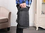 Чоловіча дорожня сумка, темний камуфляж, фото 2