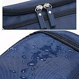 Чоловіча дорожня сумка, темний камуфляж, фото 8