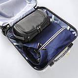 Мужской дорожный органайзер, синий, фото 6