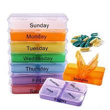 Органайзер для таблеток на неделю