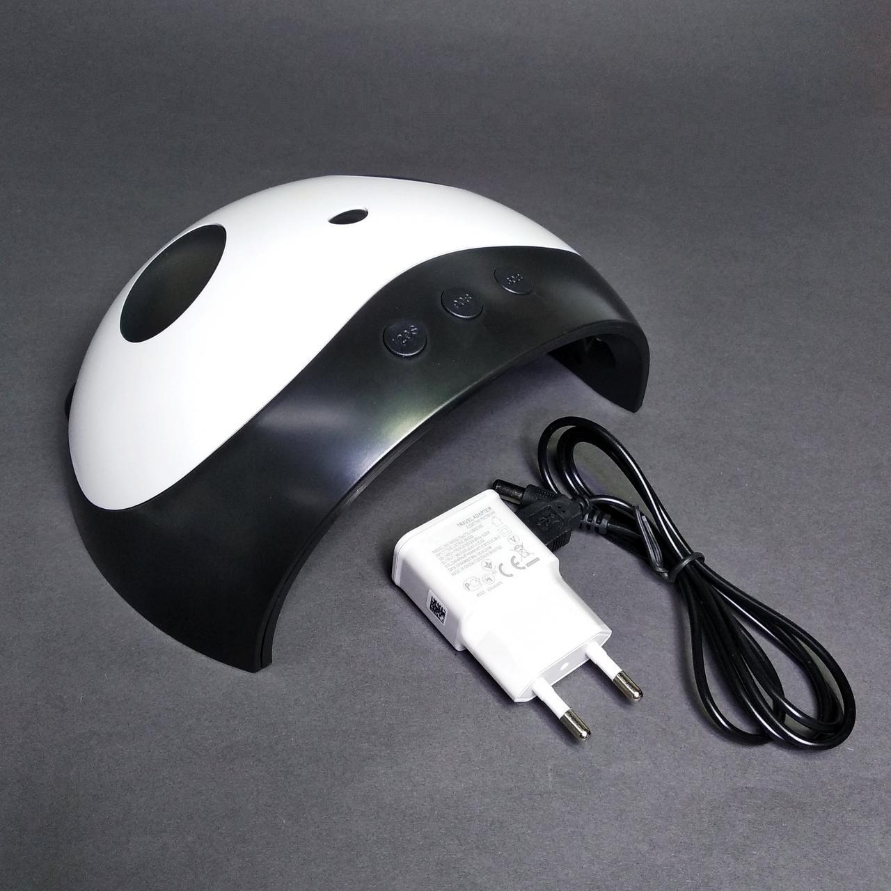 Лампа UV LED для нігтів X1,36 вт, usb адаптером