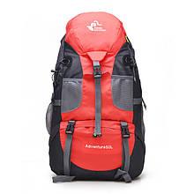 Туристический (походный) рюкзак 50л, красный