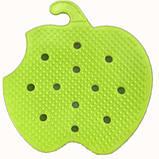 Щетка для чистки и мытья овощей зеленый, фото 2
