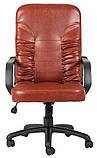 Офисное Кресло Руководителя Richman Техас Мадрас Cognac Пластик М2 AnyFix Коричневое, фото 3