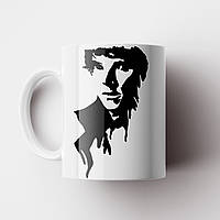 Чашка Шерлок. Sherlock. Чашка з принтом серіал Шерлок. Бенедикт Камбербетч, фото 1