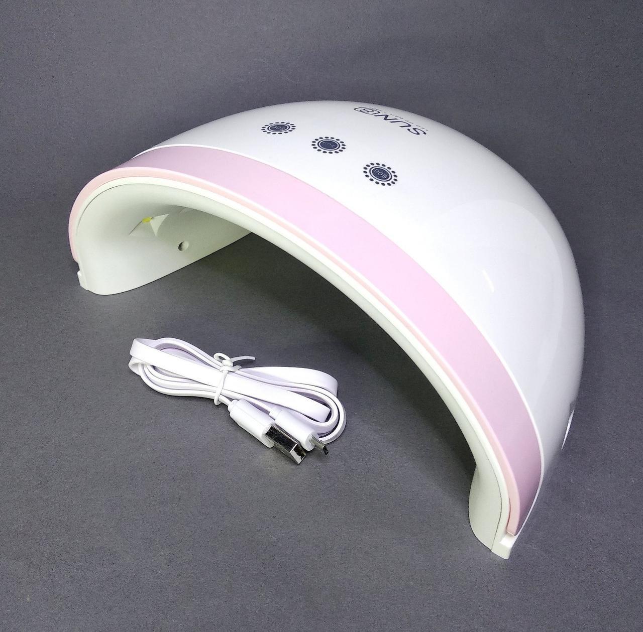 Лампа UV/LED для ногтей  SUN 8, 30 Вт