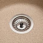 Кухонна мийка гранітна Eva (Ø475*175) Piesok (301) ТМ Galati, фото 5