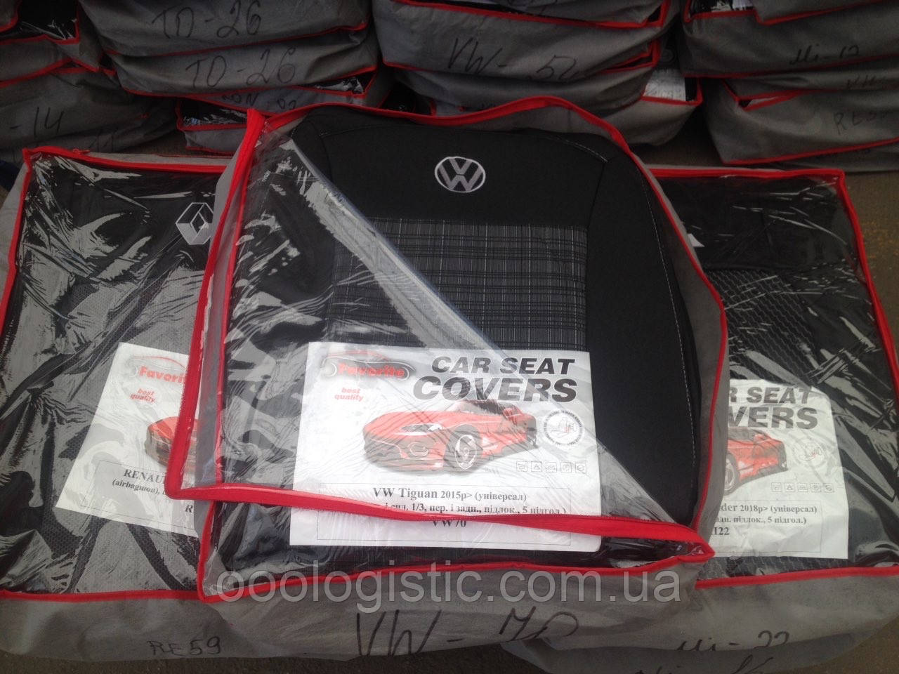Авточехлы  на Volkswagen Tiguan 2015> универсал