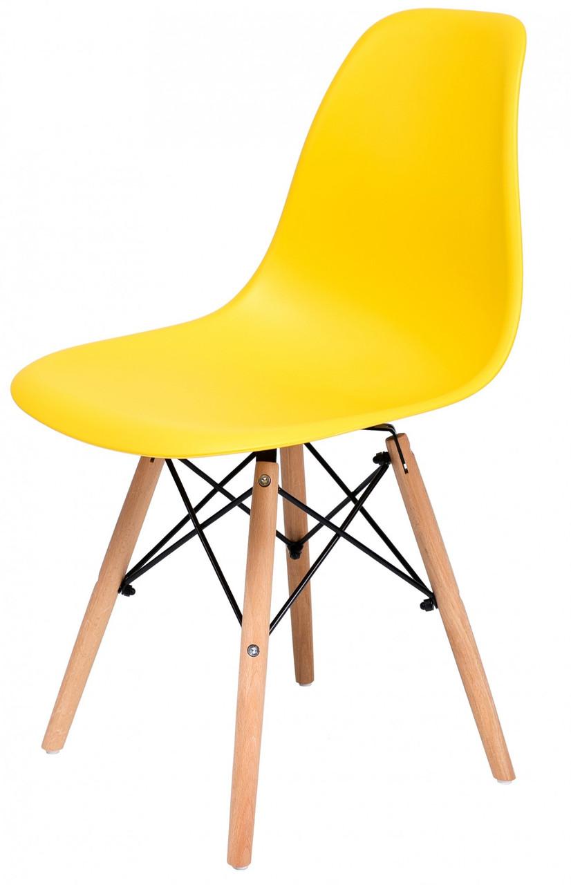 Стілець Richman Жаклін PL 460 x 400 x 830H Жовтий