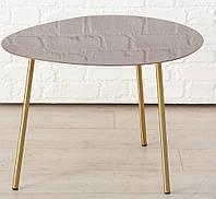 Журнальный столик Вилана металл розовый h47см w59см