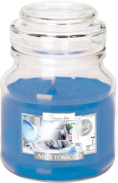 Свеча ароматизированная Bispol антитабак 10 см (snd71-69)