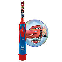 Детская зубная электрическая щетка «Тачки»
