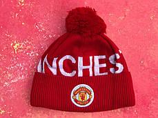 Шапка + Баф(горловик) ФК Манчестер Юнайтед, фото 2