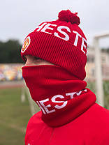 Шапка + Баф(горловик) ФК Манчестер Юнайтед, фото 3