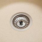 Кухонна мийка гранітна Eva (Ø475*175) Avena (501) ТМ Galati, фото 6
