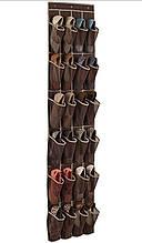Дверний органайзер для взуття на 24 кишені (12 пар взуття)