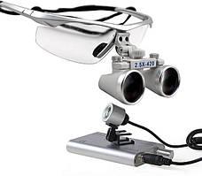 Очки бинокулярные с подсветкой №1 в ассортименте
