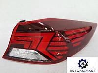 Ліхтар зовнішній лівий / правий LED (уточнюйте комплектацію!) Hyundai Elantra 2019-, фото 1