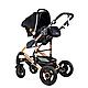 Универсальная детская коляска трансформер Ninos Freelander grey  3 в 1, фото 9