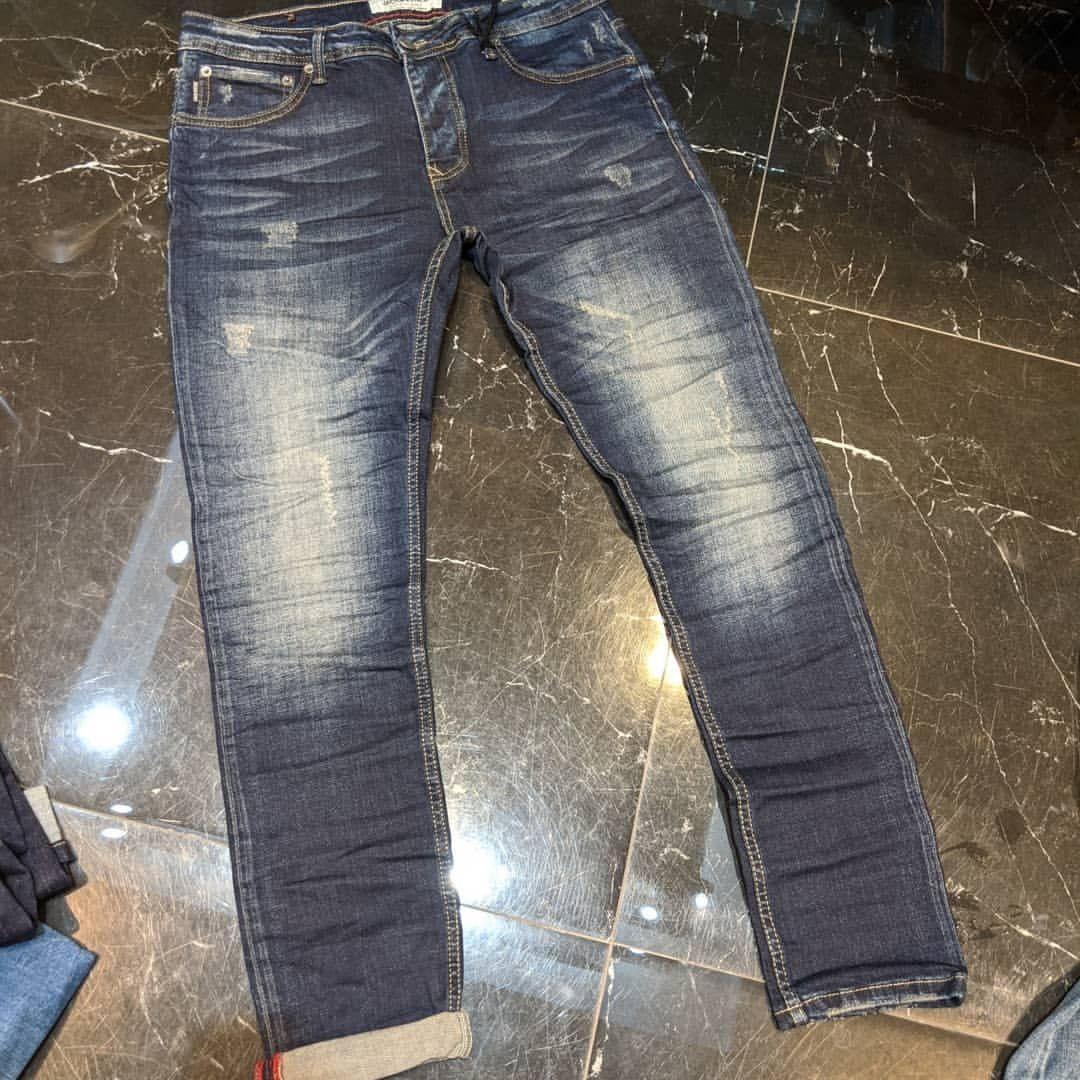 Мужские джинсы Jack & Jones CK1067 синие