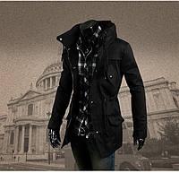 Ветровка, мужская осенняя куртка коттон 4 цвета, фото 1