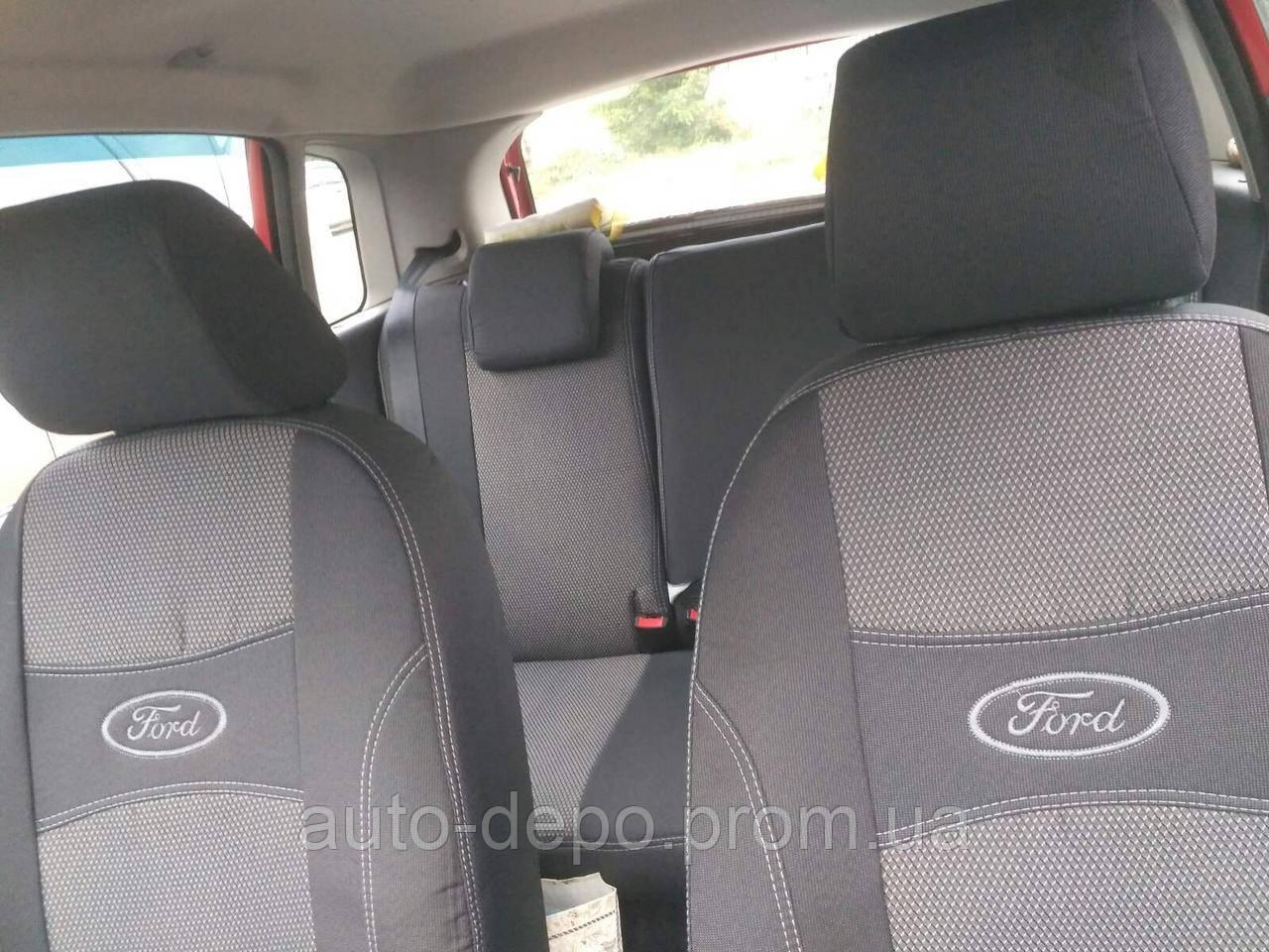 Чехлы на Форд Фиеста, Ford Fiesta MК 6 2002-2008 Nika