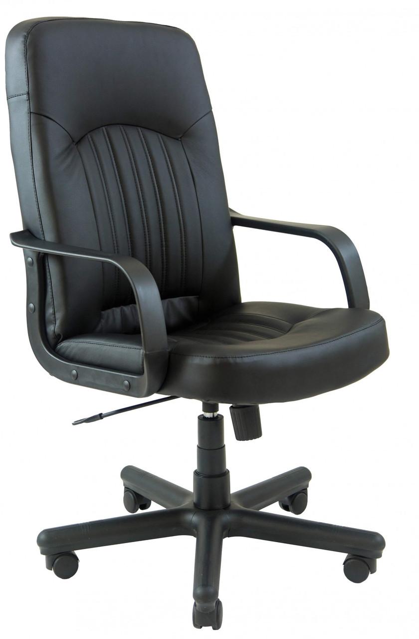 Офісне Крісло Керівника Richman Фіджі Флай 2230 Пластик М2 AnyFix Чорне