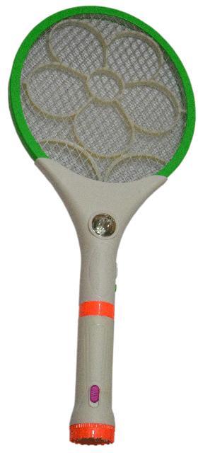 Мухобійка акумуляторна з ліхтариком LS-02R - знищувач комарів та мух