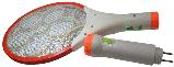 Мухобійка акумуляторна з ліхтариком LS-02R - знищувач комарів та мух, фото 3