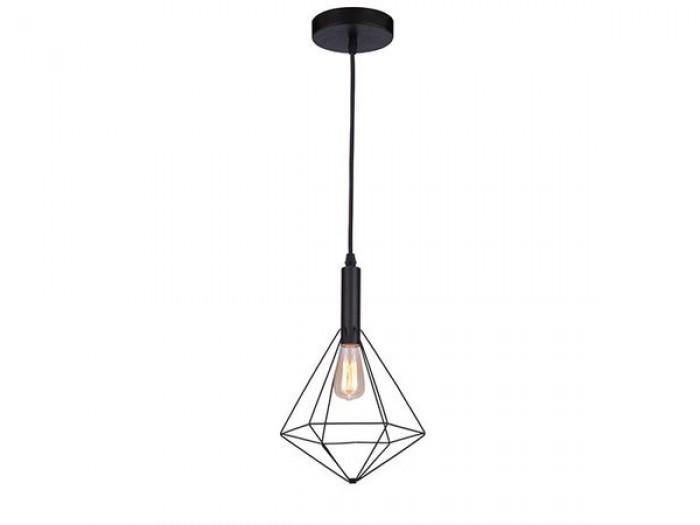 Подвесной светильник Azzardo Diamond 1 (MD5039-1B BK) AZ2139