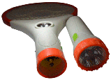Мухобійка акумуляторна з ліхтариком LS-02R - знищувач комарів та мух, фото 5