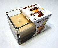 Свеча в стекле ароматическая Кофе