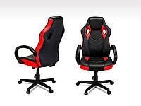 Кресло компьютерное офисное крісло офісне компютерне Pagani червоне