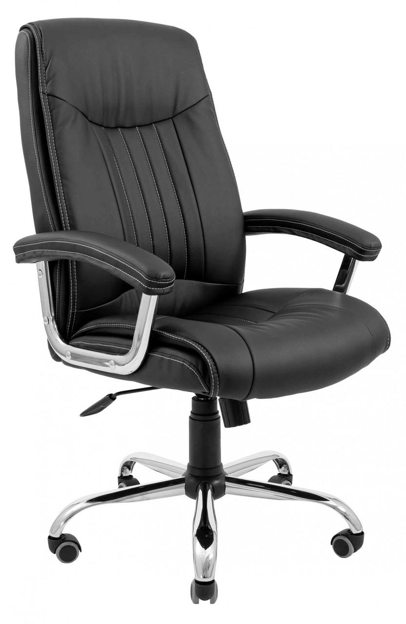 Офисное Кресло Руководителя Richman Франкфурт Флай 2230 Хром М2 AnyFix Черное