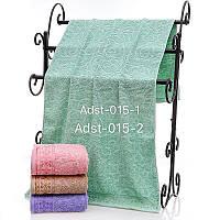 Лицевое полотенце махровое размер 50*100 лепка  микс