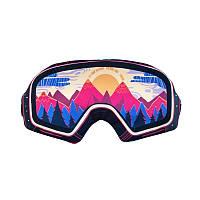 Дизайнерская Маска для сна Silenta Лыжная маска (цветная), фото 1