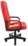 Офисное Кресло Руководителя Richman Челси Флай 2210-2201 Пластик Рич М2 AnyFix Красно-бежевое, фото 3