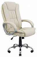 Офисное Кресло Руководителя Richman Калифорния Хром М1 Tilt Бежевое