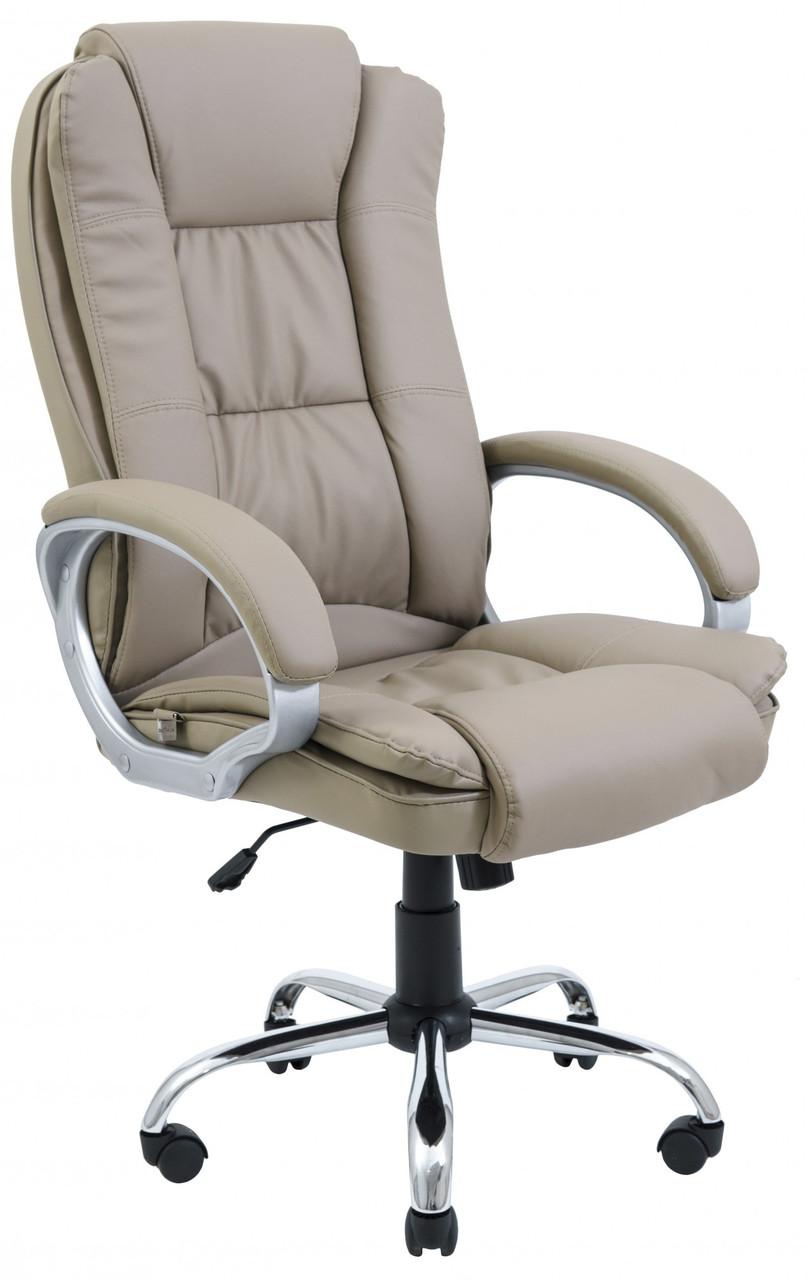 Офисное Кресло Руководителя Richman Калифорния Хром М1 Tilt Кофейное
