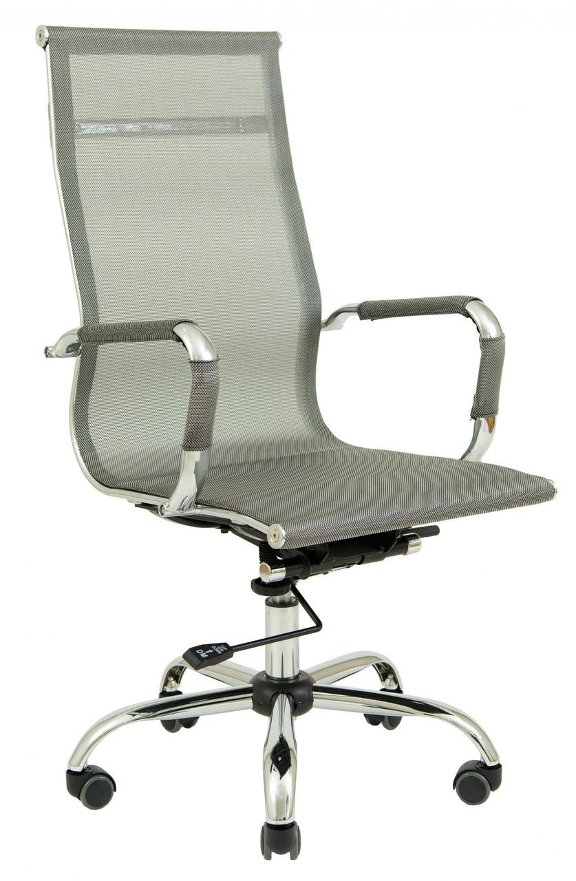 Офисное Кресло Руководителя Richman Кельн Хром DeepTilt Серое