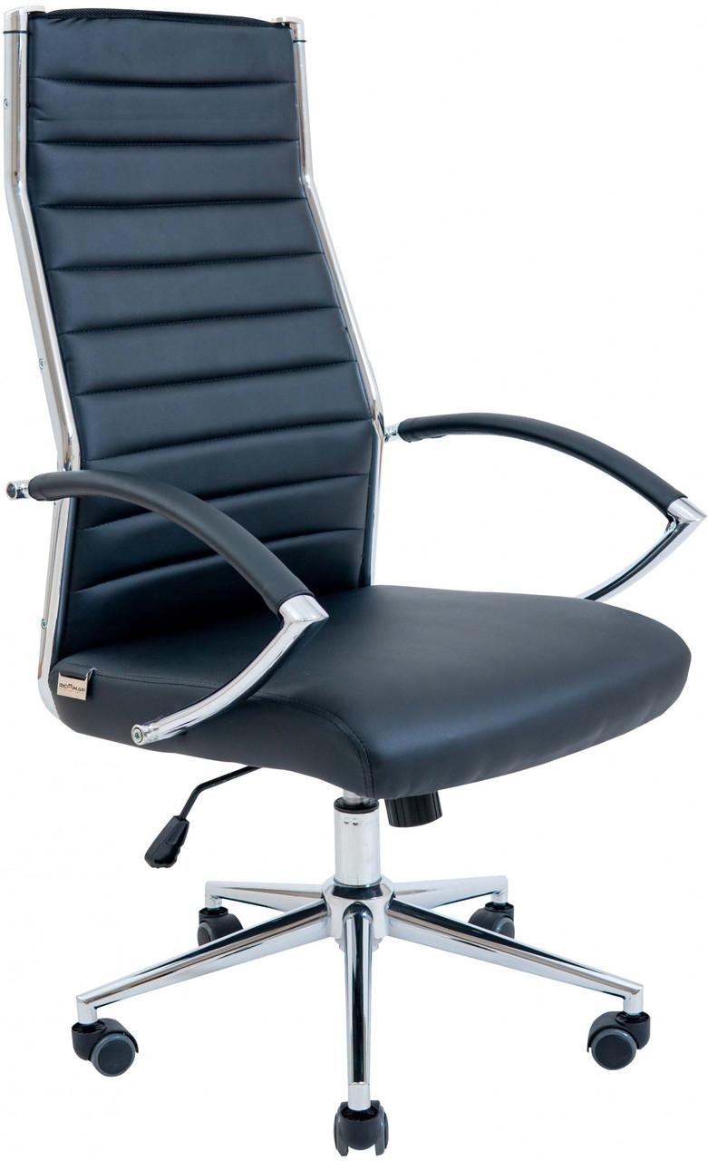 Офисное Кресло Руководителя Richman Малибу Хром М1 Tilt Черное