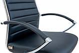 Офисное Кресло Руководителя Richman Малибу Хром М1 Tilt Черное, фото 4