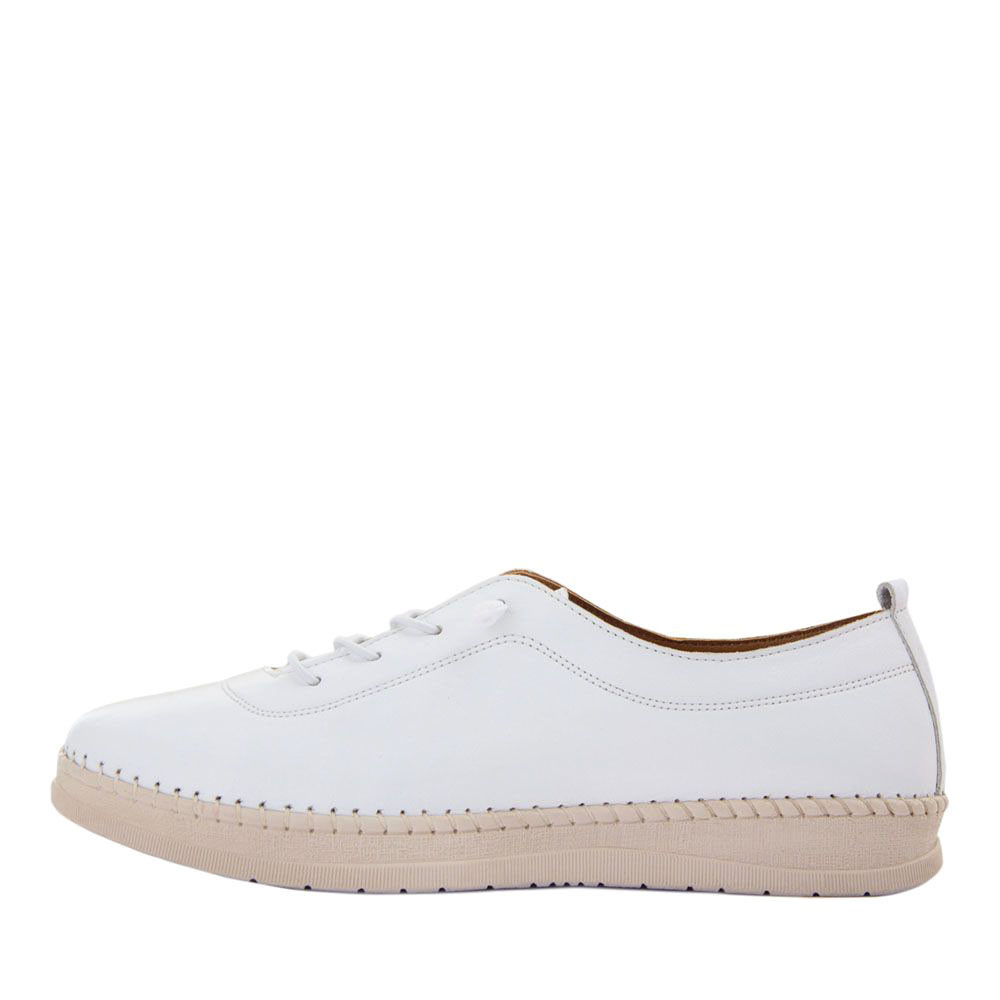 Мокасины женские Brenda MS 21641 белый (40)