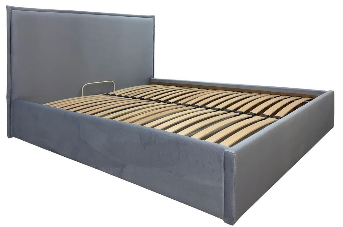 Кровать Richman Андреа Vip 140 х 200 см Monolith 70 С дополнительной металлической цельносварной рамой Серая