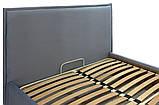 Кровать Richman Андреа Vip 140 х 200 см Monolith 70 С дополнительной металлической цельносварной рамой Серая, фото 4