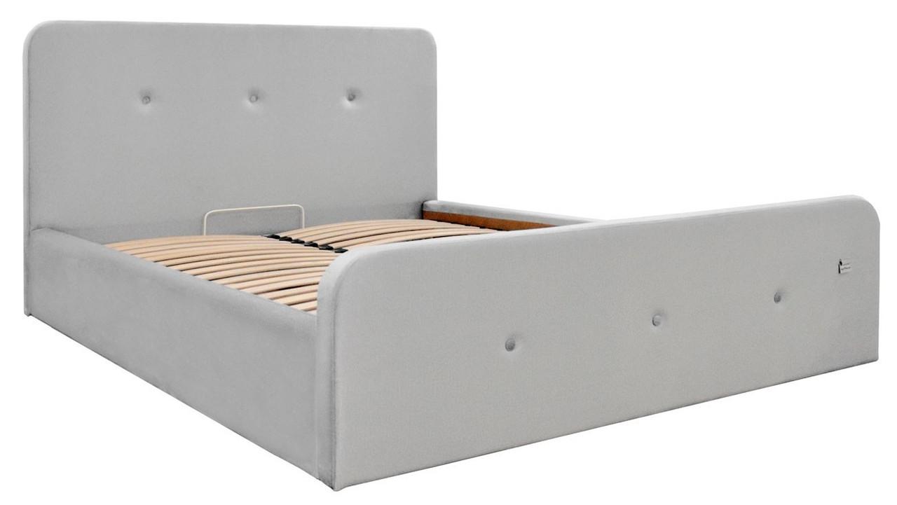Ліжко Двоспальне Richman Мішель Standart 180 х 190 см Monolith 84 Сіра